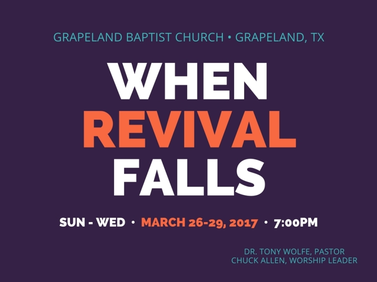 When Revival Falls